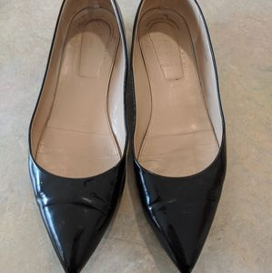 J.Crew Patent Pointed Toe Flats